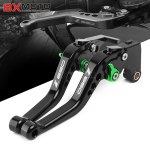 For Kawasaki Z650 Z-650 2017 2018 2019 Accessories Motorcycle Short Brake Clutch Levers Handle(China)