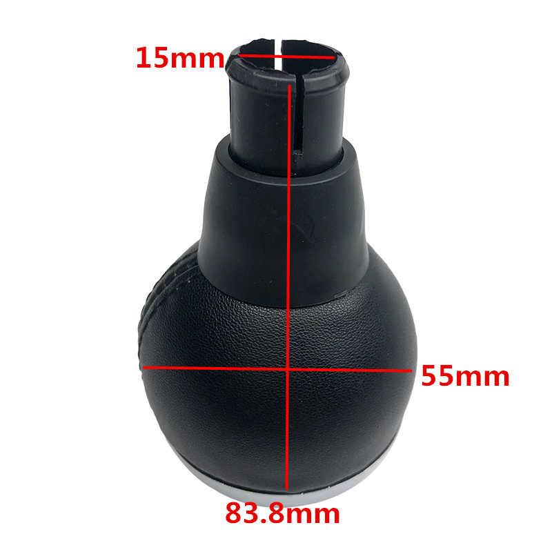 Manopla de câmbio de couro para mini cooper, para contador cooper d s sd r55 r56 r57 r58 r59 f55 f54 f57 r60 r61 pacema john cooper funciona