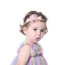 Prop Headwear Flower-Headband Hair-Accessories Photography Newborn Infant Baby-Boy-Girl