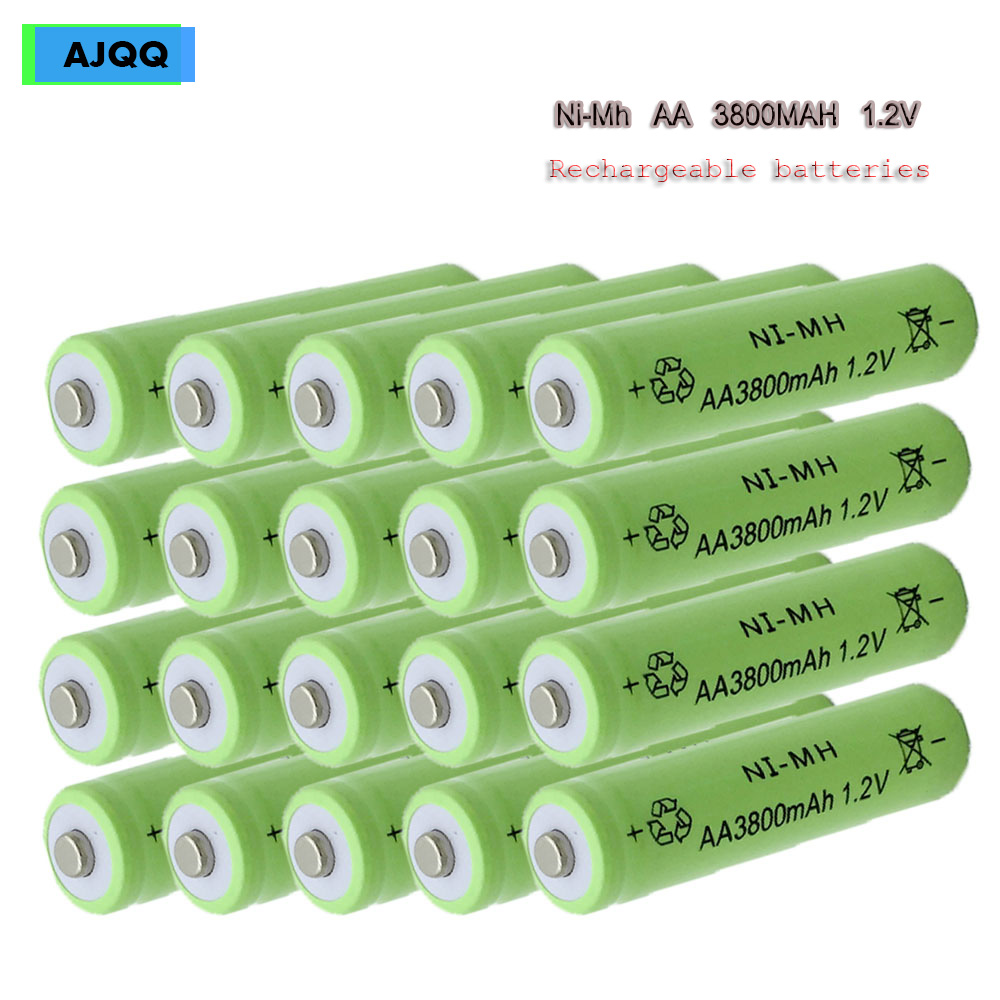 Factory sell cheap AJQQ high capacity NIMH battery 3000 MAH 1.2 V rechargeable battery for watch toys image