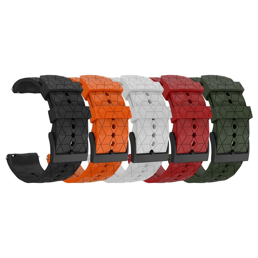 Silicone Replacement Watchband Wrist Band Strap For Suunto 9 Baro Titanium Copper Bracelet Compatible With Suunto Spartan Baro