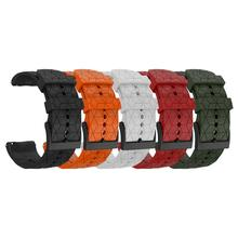 Silicone Replacement Watchband Wrist Band Strap for Suunto 9 Baro Titanium Copper Bracelet Compatible with Suunto Spartan Baro цена и фото