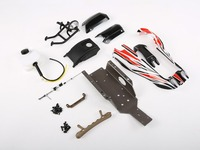 Refitted Kits Fit for Original Baja with Plastic Roll Cage for 1/5 Rovan Q BAJA Rc Car Parts