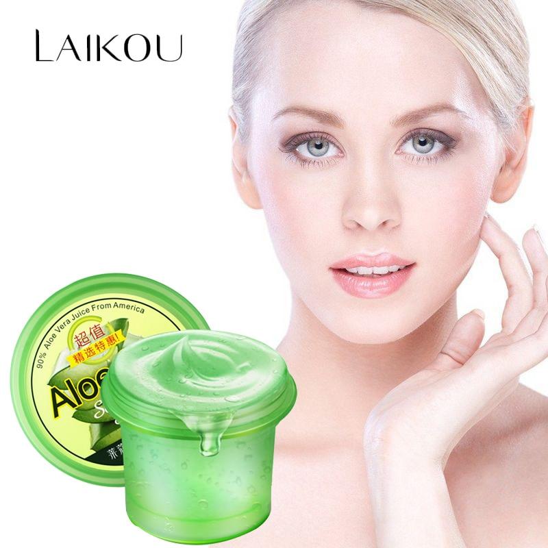 LAIKOU Anti Acne Face Cream Aloe Vera Gel Whitening Moisturizing Cream Anti Wrinkle Removal Anti sensitive Sunscreen Day Cream|wrinkle remover|day creamanti acne - AliExpress