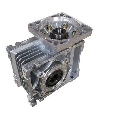 Worm Reducer NMRV050 19mm input shaft 5:1 - 100 :1 Gear Ratio Nema 42 motor Worm Gearbox 90 Degree Speed Reducer