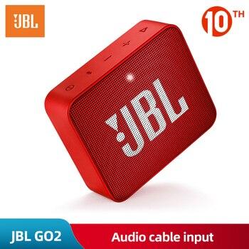 JBL GO 2 Music Wireless Bluetooth Mini Speaker IPX7 Waterproof Outdoor Potable Speakers Rechargeable Battery with Mic