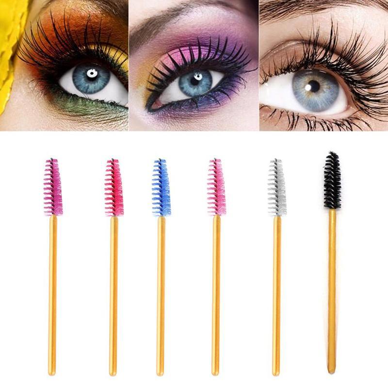 1 Pcs Eyelash Extension Disposable Eyebrow Brush Mascara Wand Applicator Spoolers Eye Lashes Cosmetic Brushes Set Makeup Tools
