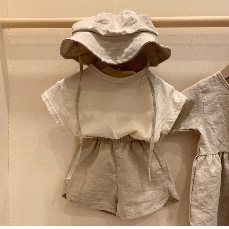 VIDMID Kids T-Shirt Cotton Short Sleeve T-shirts For Boys Tee Girls Tops Children Summer Clothes Baby Sweatshirt Children  P681 4