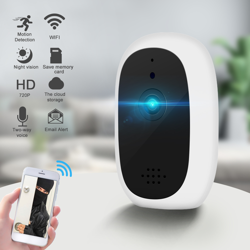 DIDIHOU Baby Camera 720P Baby Monitor  Mini IP Camera Wireless WiFi Camera Security Surveillance CCTV Camera Smart Alarm