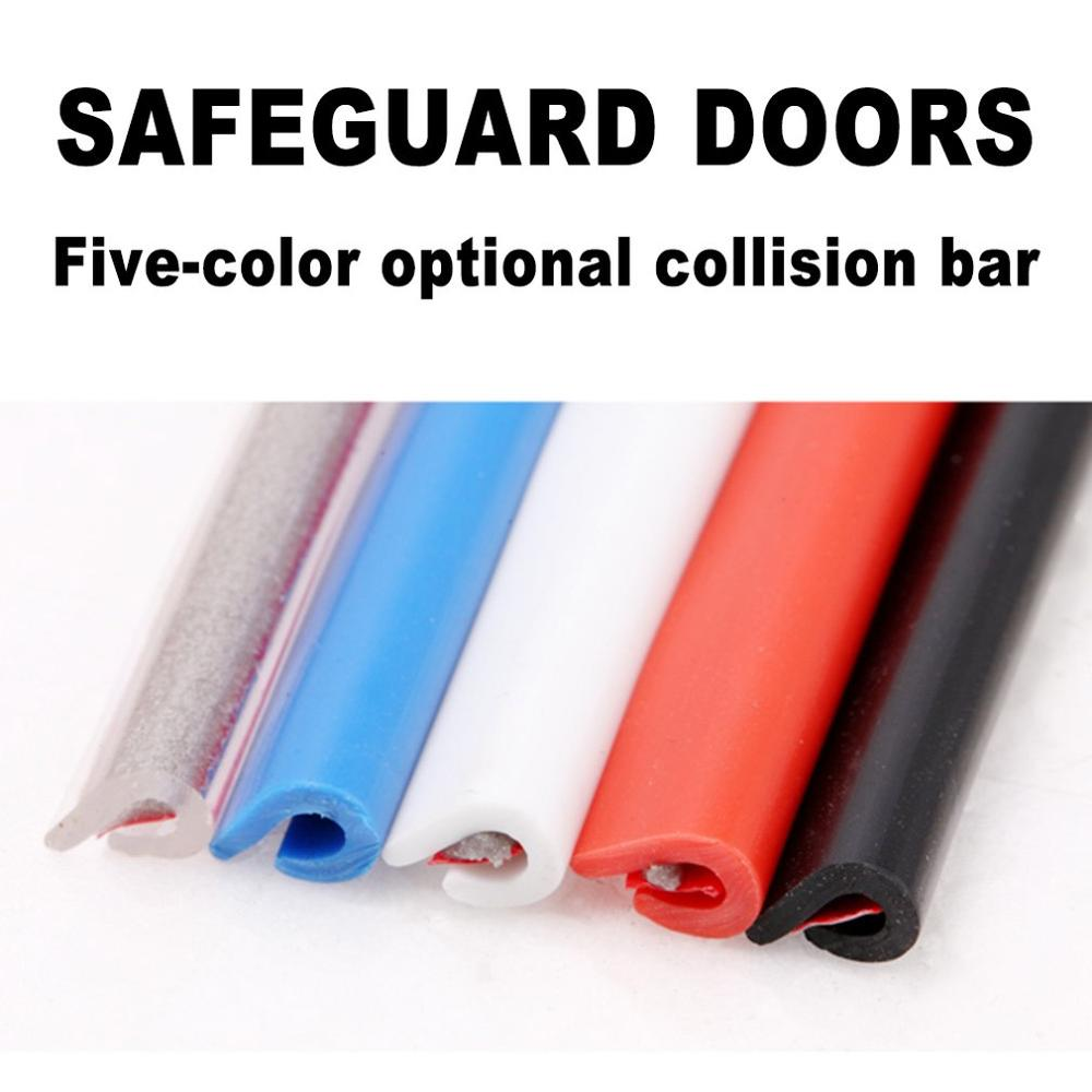 Car Anti Collision Strip Door Edge Seal Invisible Scratch Resistant Decorative Strip Body Rubbing Strip Protection Styling Mouldings     - title=