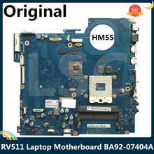HM55 Laptop Motherboard Samsung RV511 DDR3 for Hm55/Ba92-07404a/Ba92-07404b/.. 315M 512MB