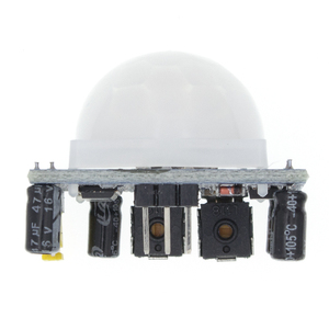 Image 3 - 무료 배송 100PCS HC SR501 적외선 IR Pyroelectric 적외선 PIR 모듈 모션 센서 감지기 모듈을 조정