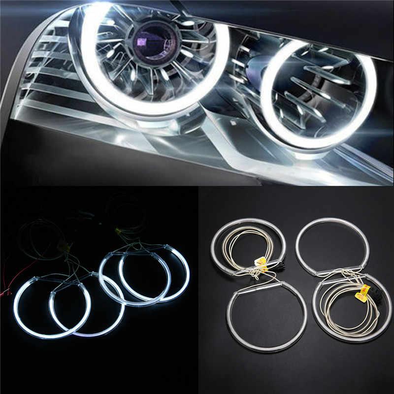Voor BMW E36 E46 E39 4 stks/set Wit CCFL LED Angel Eyes Halo Rings Verlichting Koplamp Lamp Auto Styling Daytime running Light