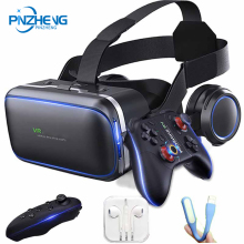 PINZHENG VR 10.0 Helmet 3D Glasses Casque Virtual Reality For iPhone Xiaomi Samsung Goggles Headset Viar Video Game Binoculars