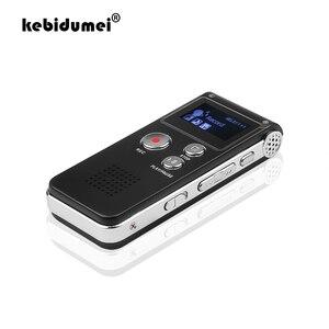 Image 1 - Kebidumei 8GB cyfrowy Audio dyktafon Mini pamięć USB długopis z rejestratorem 650Hr dyktafon 3D Stereo MP3 odtwarzacz Grabadora Gravador
