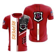 Imagem de rugby para homem, 3d, estampado digital, 32 equipos, camisa informal de manga corte com cuello redondo,