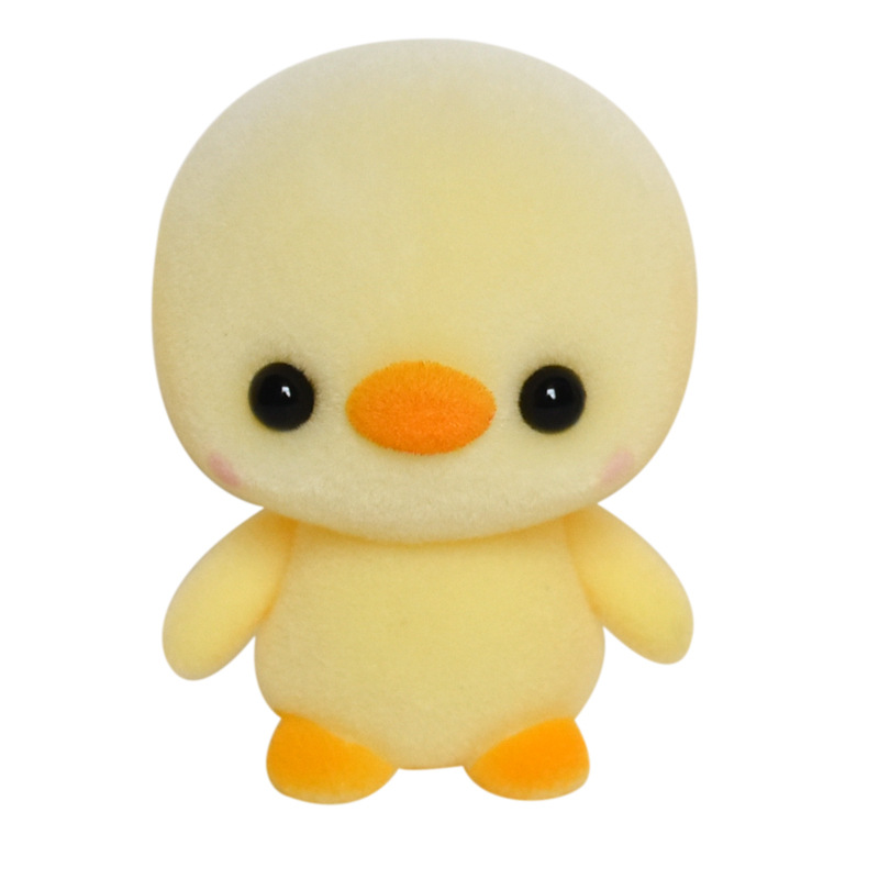 Hot Sale Yellow Mini Duck Doll Best Gifts For Children Kids Lovely Flocking Animal Doll Toys Christmas Birthday Favors Gifts