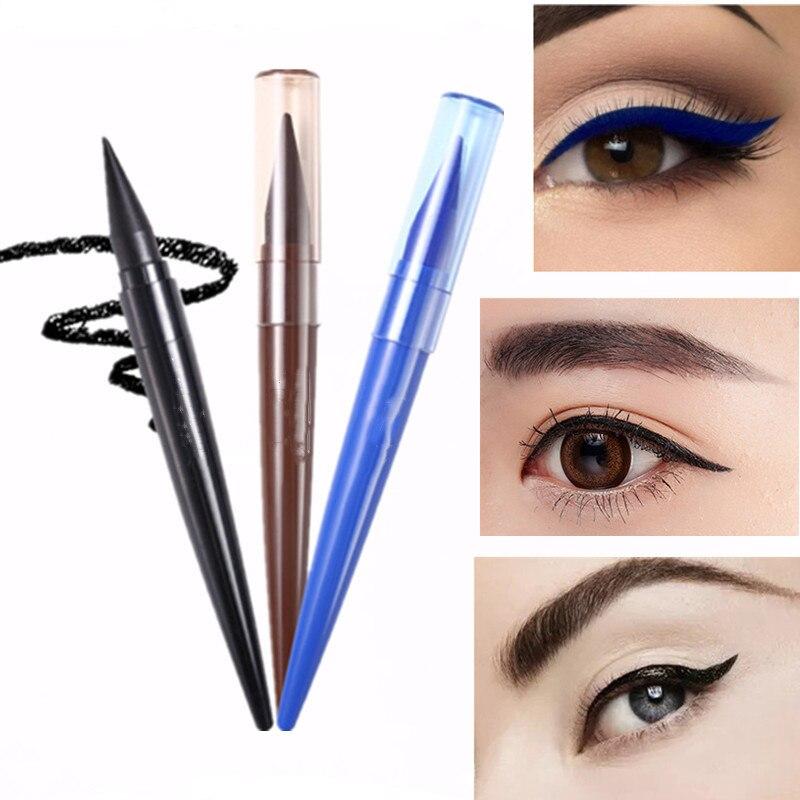 2020 Women 1 Pc Eyeliner Liquid Pen Waterproof Long Lasting Quick Drying Smooth Makeup Beauty Matte Eyeliner Stamp Eye Pencil