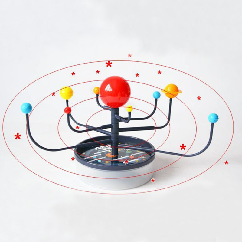 Solar System Planetarium Model Kit Astronomy Science Toys For Children Assembling Geography Teaching Supplies Educational Toys
