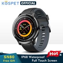 SN80 Y montre intelligente hommes IP68 étanche natation pleine touche moniteur de fréquence cardiaque Sport Fitness femmes Bracelet Smartwatch enfant bande