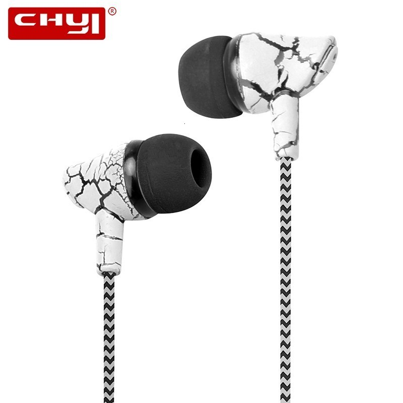 CHYI Cool Sport Wired In Ear Earphone Fashion Cheap Earbuds With Microphone Line Control Free Shipping Gifts For Boy Girl Friend image