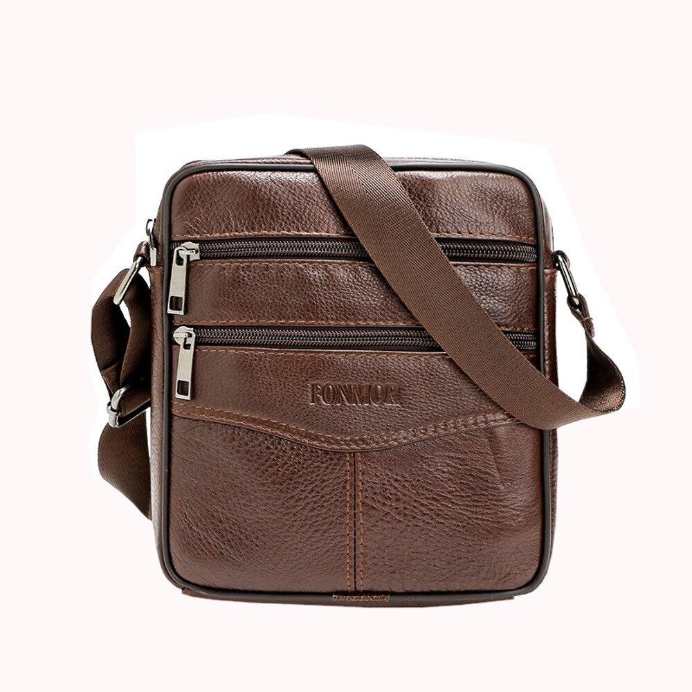 Men Messenger Bag Vintage Business Crossbody Bag Large Capacity Handbag Casual Man Bag Shoulder Bags Briefcases Business Office