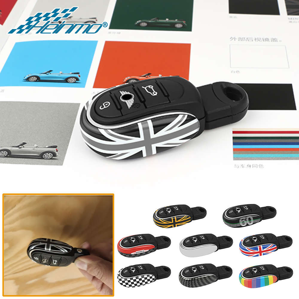For MINI Countryman F60 COOPER JCW Clubman F54 F55 F56 F57 Car Key Case Cover Chain Rope Protection  amp  Decoration Accessories