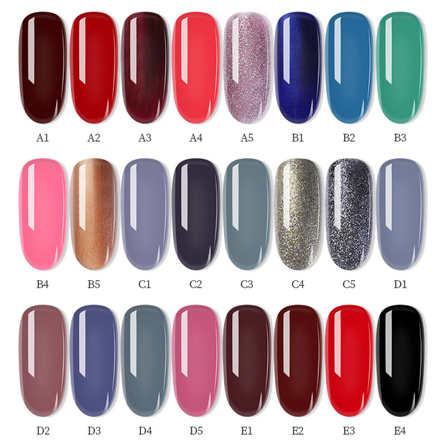 PinPai 6ml Water Based Peel Off Nail Polish Long Lasting Easy Remove Nail Paint Lacquer Enviromental Manicure Red Color Varnish 5