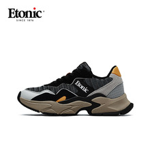 ETONIC Retro Dad Shoes Men Chunky Sneakers Breathable Lightweight Running