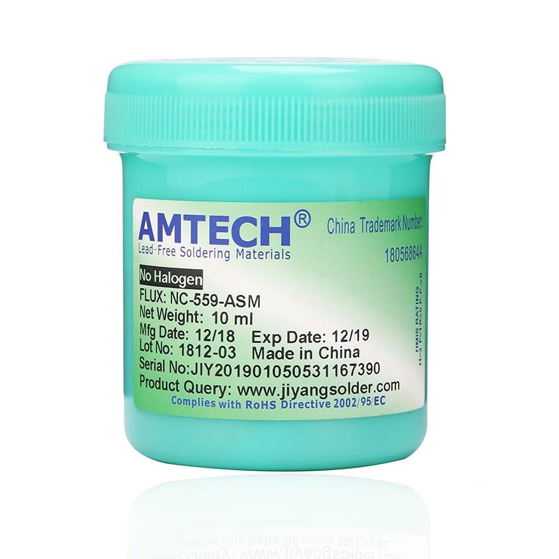 Solder Paste AMTECH Nc-559-asm 100g Leaded Free Soldering Flux Welding Paste Flux 559  Nc-559 Soldering Iron Soldering Paste