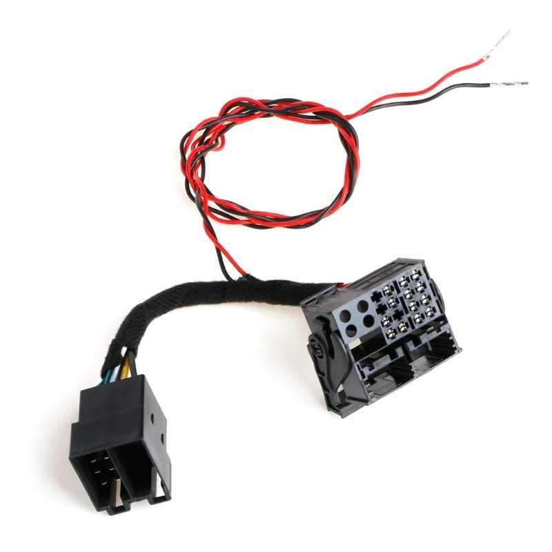 Iso Quadlock Canbus アダプタケーブル RCD330 RCD510 RCD310 RNS510 変換ケーブルポロゴルフティグアンパサート CC