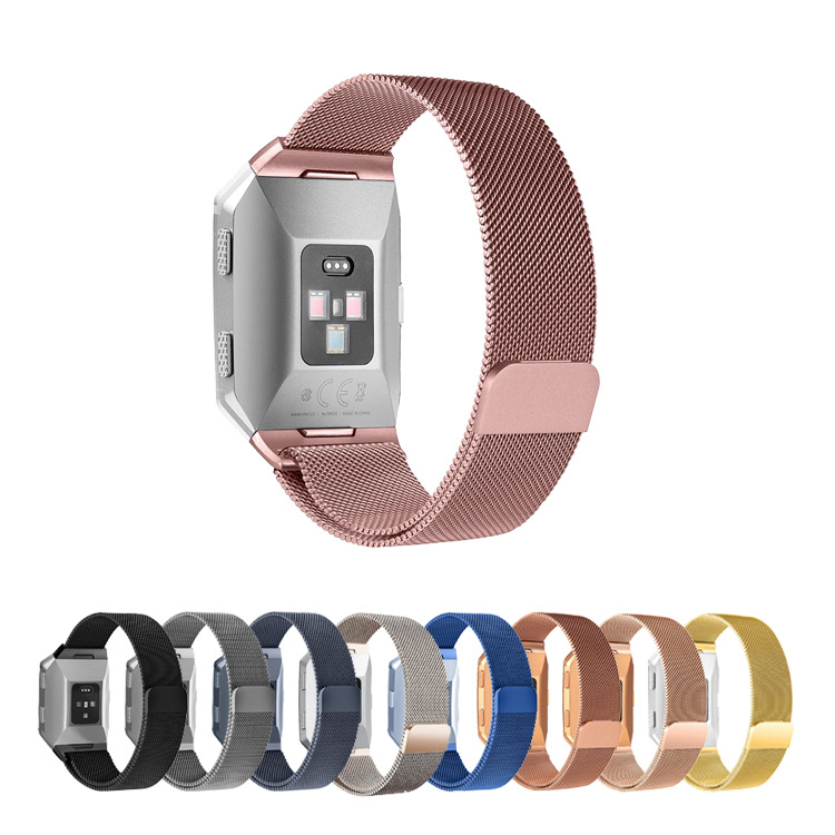 New Style Fitbit Ionic Milan Strap Suitable For Ionic Smart Watch Stainless Steel Metal Mesh Belt