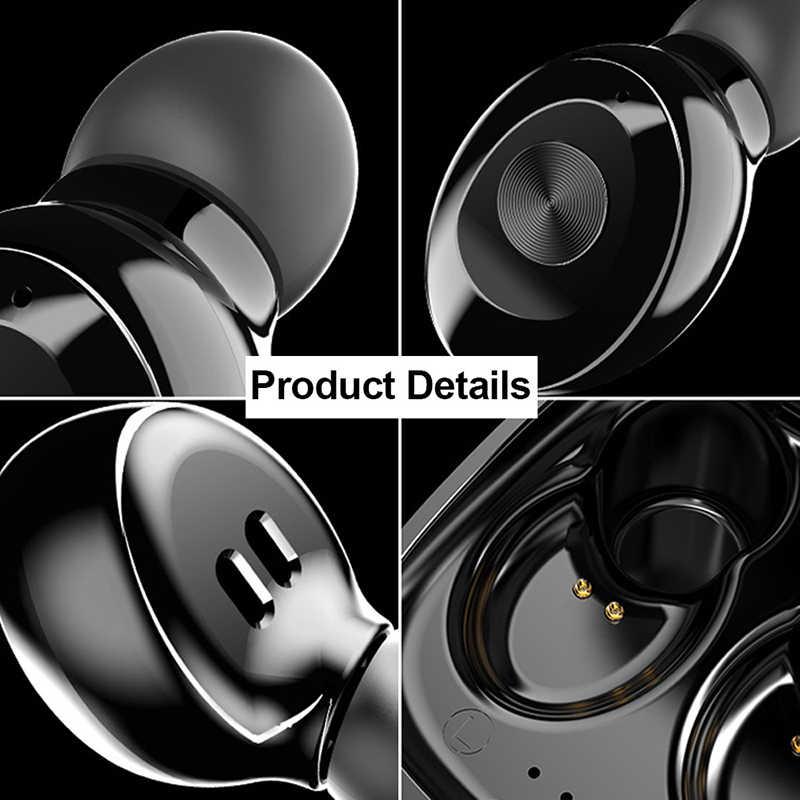XG12 Double TWS sans fil Bluetooth 5.0 écouteur stéréo HIFI son Sport écouteurs mains libres dans l'oreille casque de jeu avec micro