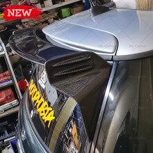 Para mini r53 jcw tipo fibra de vidro telhado spoiler guarnição kit corpo tuning parte para r53 frp topo asa lábio corrida (não para r56)