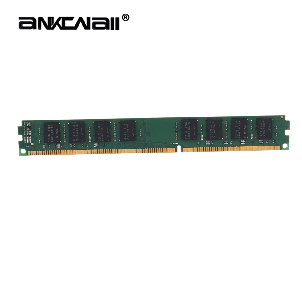 ANKOWALL DDR3 Desktop RAM with 2GB/4GB Capacity and 1866MHz/1600Mhz Memory Speed 6