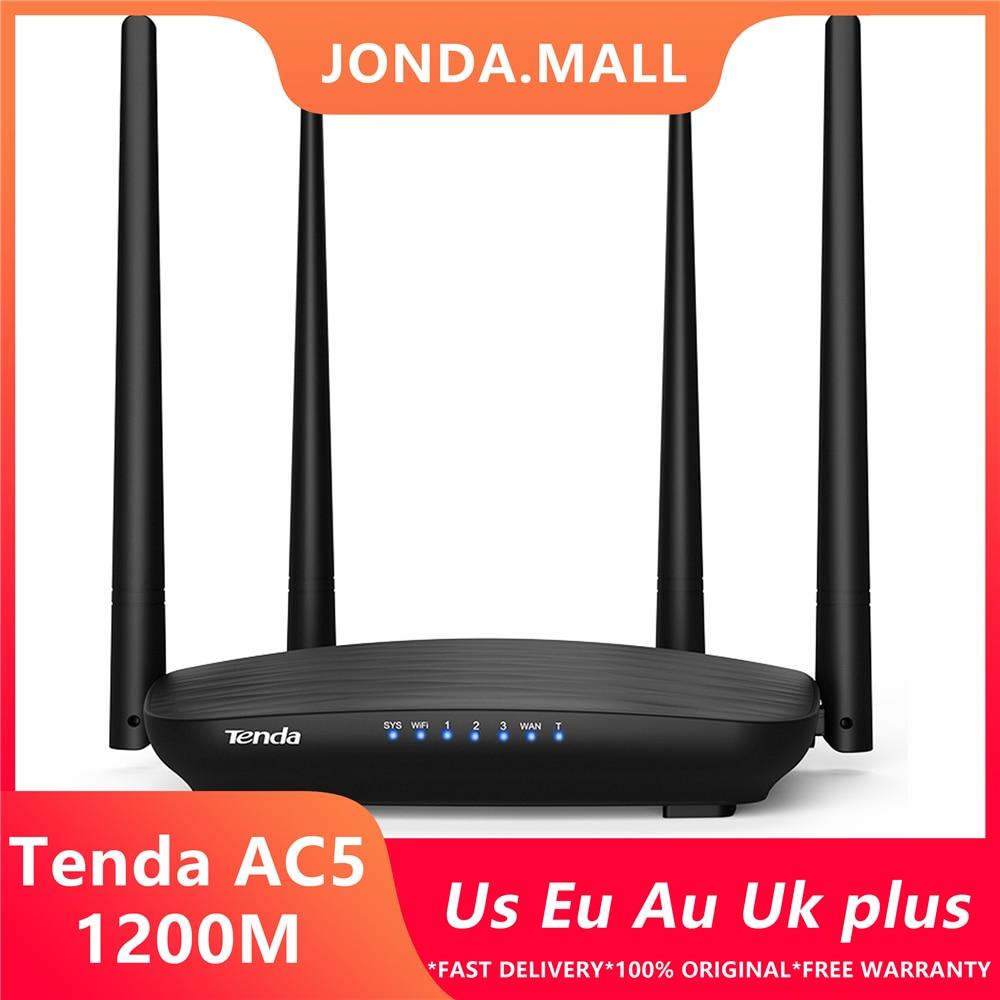 Tenda AC5 1200M Wireless WiFi Router 5dBi Antenna Dual Band APP Remote Repeater