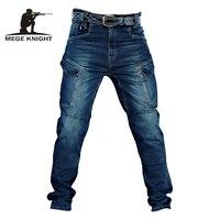 Mege Taktische Denim Hosen Military Cargo Jeans Männer Casual Hosen Stretch Multi Taschen Taktische Kampf Armee Arbeits Kleidung