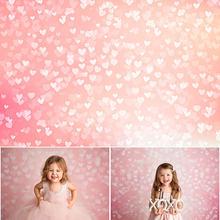 Mocsicka розовый любовь сердце блеск фоновые фотографии боке