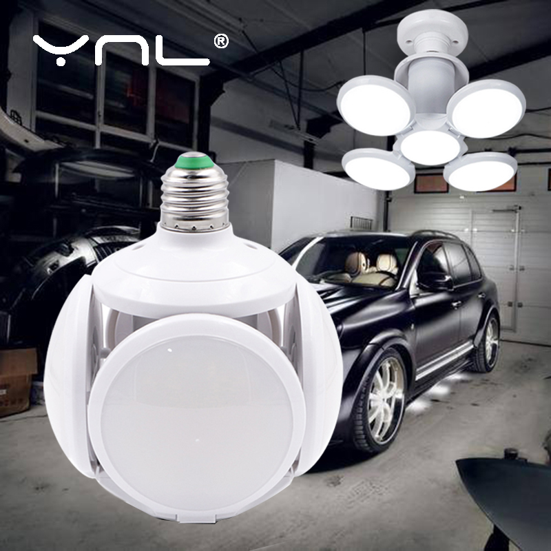 E27 Folding LED Light Bulb 40W High Brightness AC 110V 220V Bombilla Lampada LED Football UFO Lamp Children Gifts Home Decor