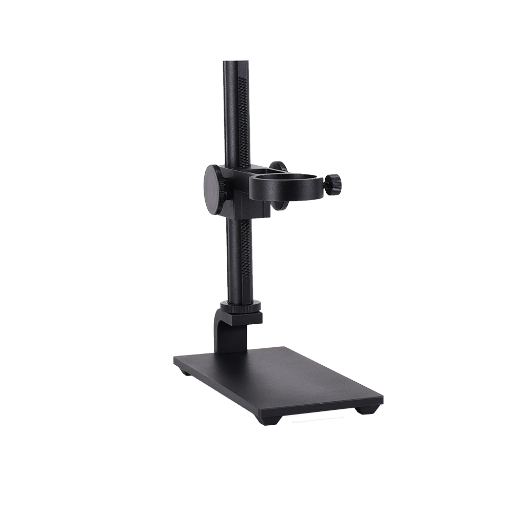 HAYEAR Mini Aluminum Alloy Stand USB Microscope Stand Holder Bracket Mini Foothold Table Frame For Microscope Repair Soldering