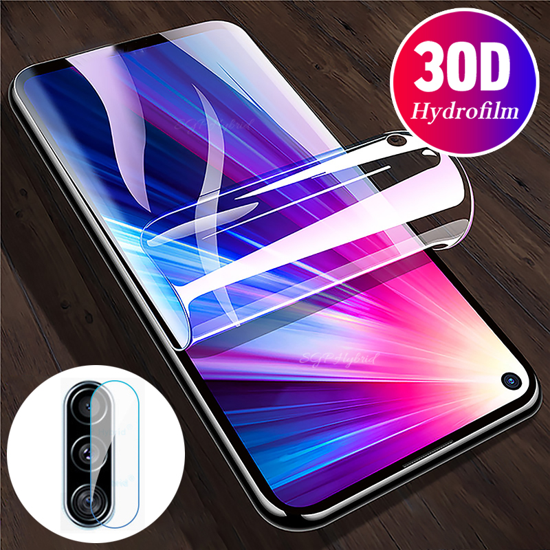 2in1 Hydrogel Protective Film  For Huawei Honor 9c 2020 Screen Protector For Huawei Honor 20 Pro 20pro 9C 9 C Camera Lens Film