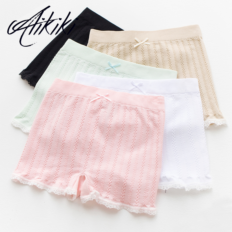 Cotton Lace Panties Shorts Safety Pants Underwear Under Dress or Skirt