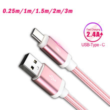 Type C Usb Cable 2m 3m Fast Charging For Xiaomi mi a3 a2 honer 9x pro huawei p30 Tipo C For Samsung Galaxy S10 S10+ Typec Cord