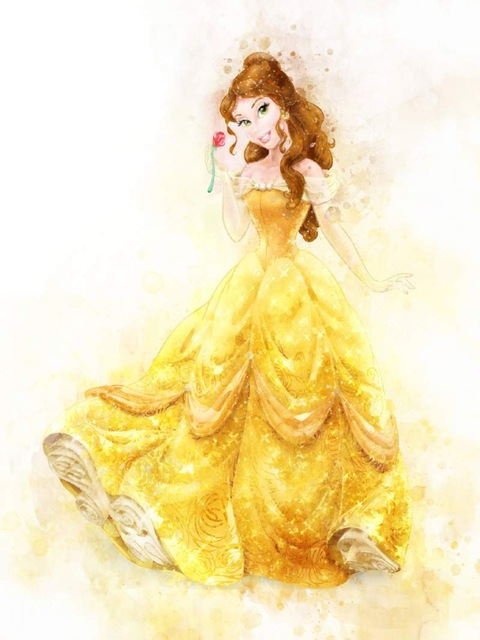 All-Princess-Watercolor-Painting-Canvas-Print-Nursery-Wall-Art-Poster-Elsa-Anna-Party-HD-Picture-Baby.jpg_640x640 (5)