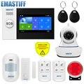 Система сигнализации PG107 с экраном 4,3 дюйма, Wi-Fi, GSM, GPRS, датчиком движения