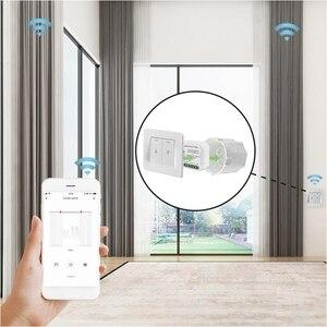 Image 3 - Tuya vida inteligente wi fi módulo interruptor de cortina para o obturador do rolo motor elétrico google casa alexa eco casa inteligente