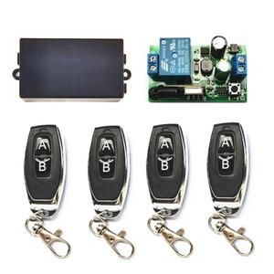 433 МГц Универсальный беспроводной пульт дистанционного управления AC 85 в 110 В 220 В 1-канальный релейный модуль приемника подходит для RF 433 Mhz1527