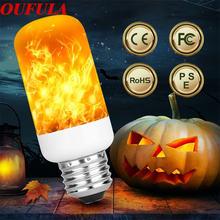Oufula Светодиодная лампа с пламенем Рождественское украшение