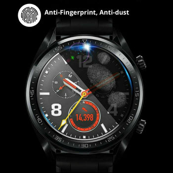 3Pack Tempered Glass Screen Protectors for Huawei Watch GT 2 Pro Explosion Proof Anti Scratch Smartwatch Protective Glass 2