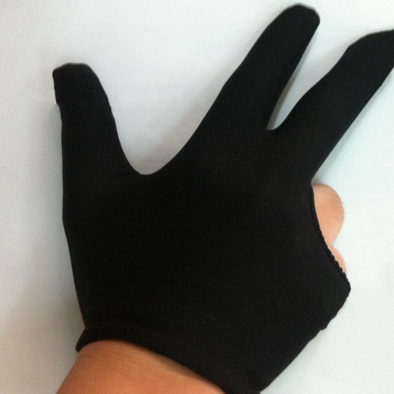 1pc 3 Fingers Glove for Adult Children Playing Table Tennis Yo-yo Artist Drawing Glove for Graphics Drawing Anti-fouling